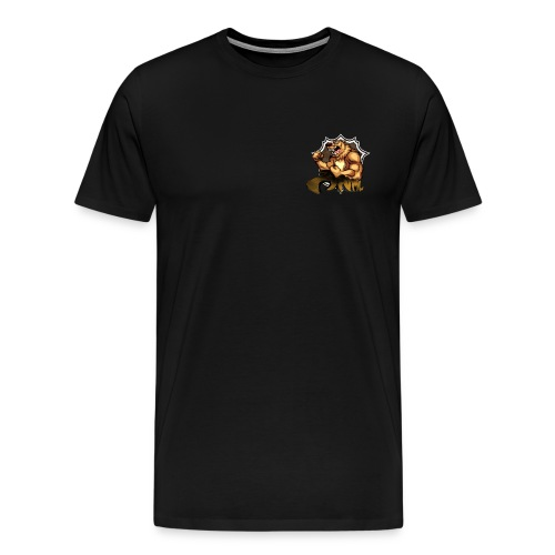 ANML Bear Mascot Tee - Men's Premium T-Shirt