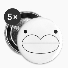 The Face™ 56mm 5 pack buttons