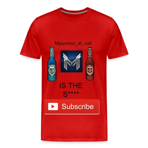 mjayy is the shit shirt - red - Men's Premium T-Shirt