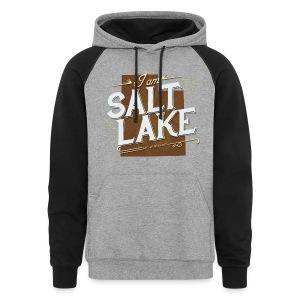 I am Salt Lake Hoodie - Colorblock Hoodie