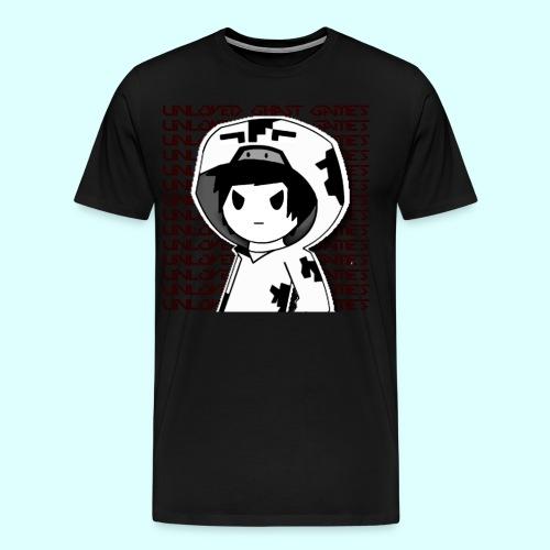 Cowsrokx White Edition - Men's Premium T-Shirt