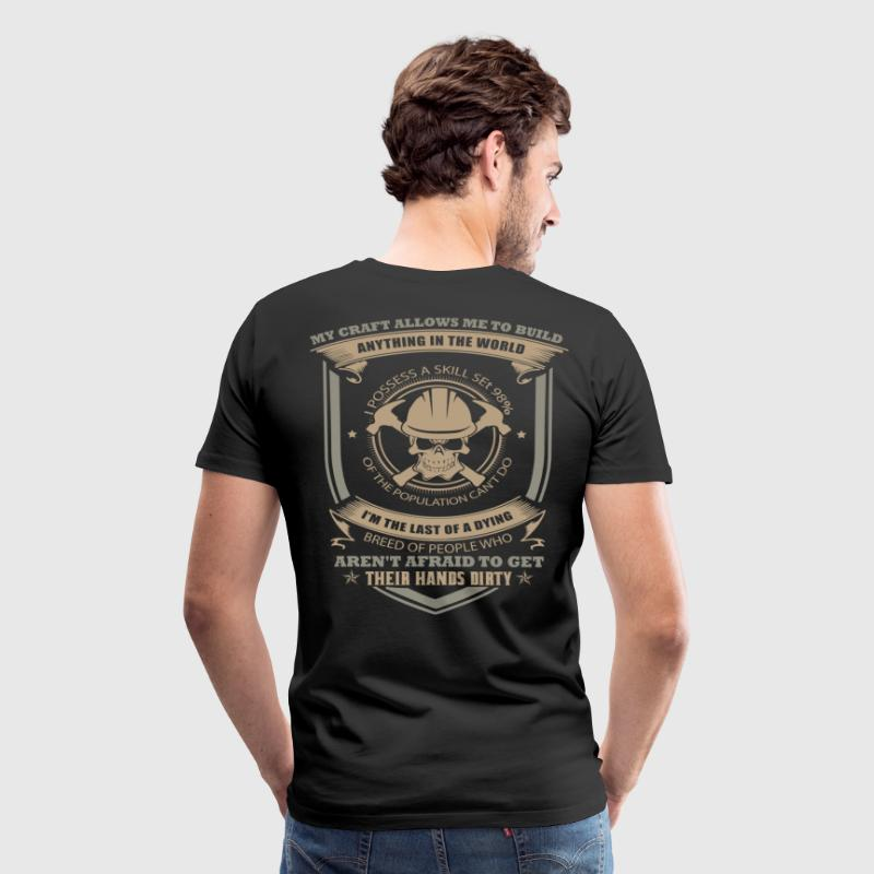 Carpenter funny carpenter the carpenters carpent - Men's Premium T-Shirt