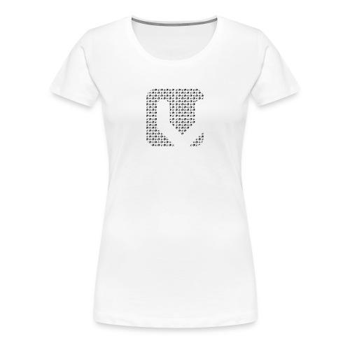 Women's Vitality Records CDJ and Vinyl Tee - Women's Premium T-Shirt
