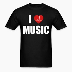 I love music heart T-Shirts