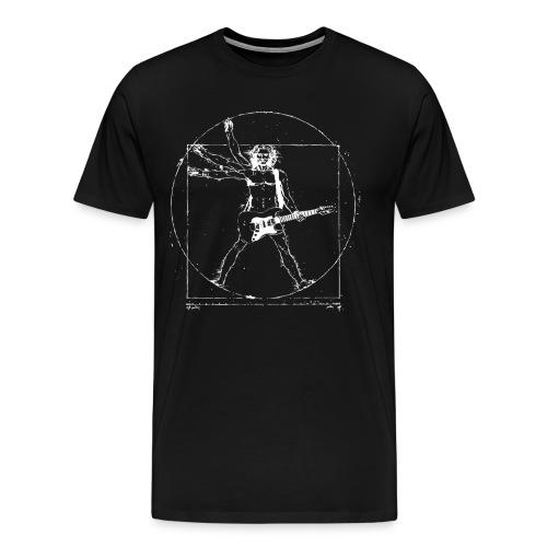 GUITARSDAILY - DaVinci's Guitar Theory - Men's Premium T-Shirt