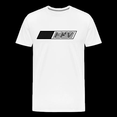 FPV Flag (black) - Men's Premium T-Shirt