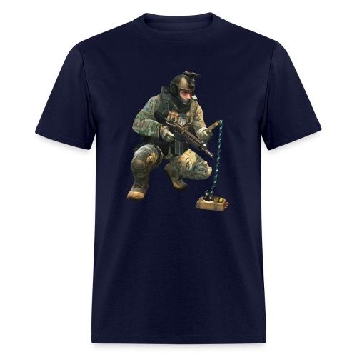 DEFUSiNG CT CS:GO T-SHIRT MEN - Men's T-Shirt