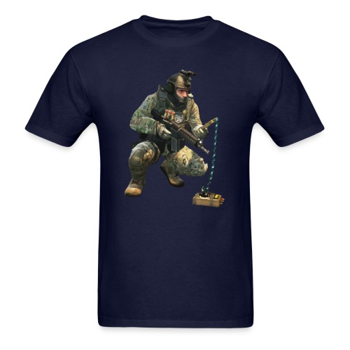 DEFUSiNG CT CS:GO T-SHIRT MEN - Men's T-Shirt