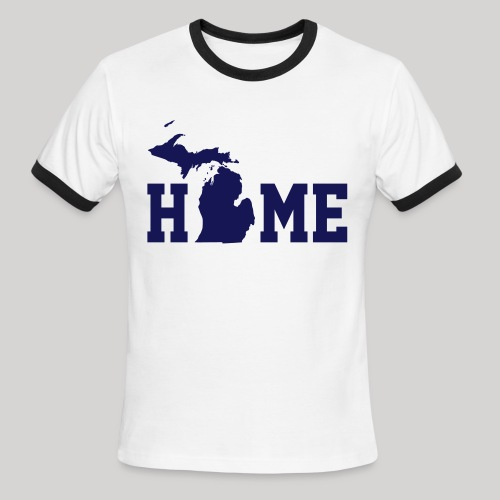 HOME - MI - Men's Ringer T-Shirt