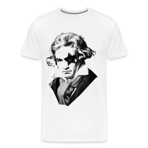 GUITARSDAILY - Beethoven's Kiss Concert - Men's Premium T-Shirt