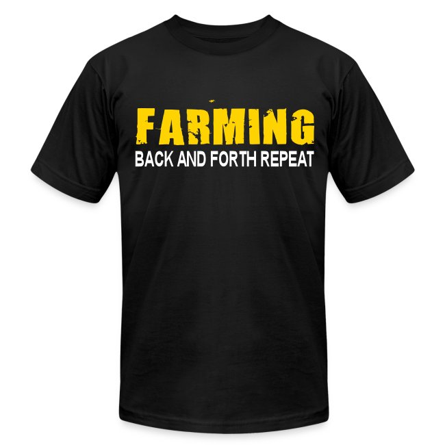 Farming - Back And Forth Repeat - Mens T-Shirt