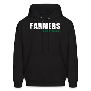 Farmers - We Grow Your Food Mens Hoodie - Men's Hoodie