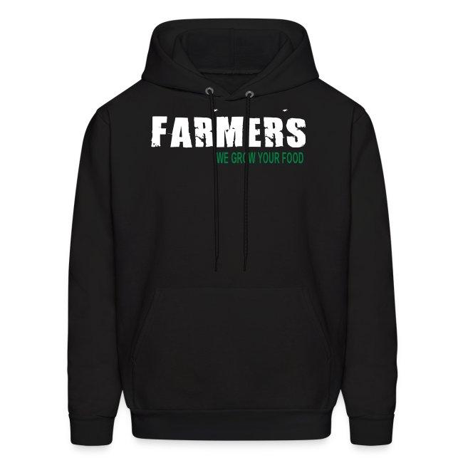 Farmers - We Grow Your Food Mens Hoodie