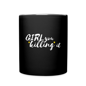 Goals on Goals Mug (Black/White/Sunshine)  - Full Color Mug