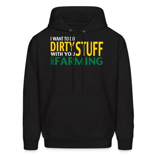 Dirty Stuff: Hoodie - Men's Hoodie