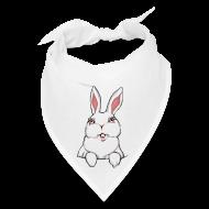 Caps ~ Bandana ~ Easter Bunny Scarf Bunny Rabbit Bandanna