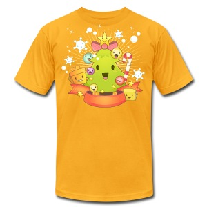 Kawaii Christmas - Men's Fine Jersey T-Shirt