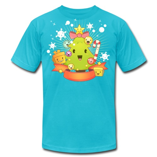 Kawaii Christmas - Men's Fine Jersey T-Shirt