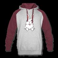 Hoodies ~ Colorblock Hoodie ~ Easter Bunny Hoodie Bunny Rabbit Hooded Sweatshirt