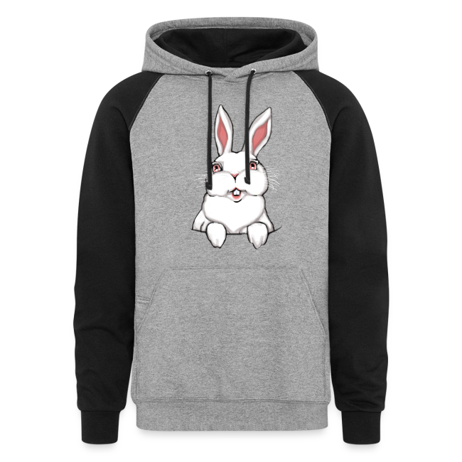 Easter Bunny Hoodie Bunny Rabbit Hooded Sweatshirt