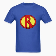 Super, Hero, Heroine, initials, Super R T-Shirts