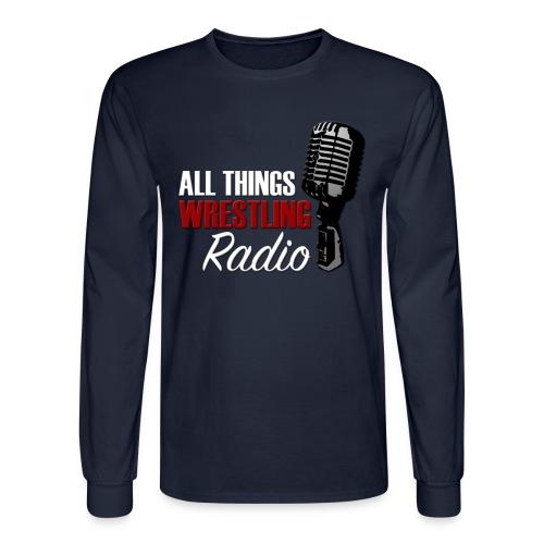 All Things Wrestling Radio Long Sleeve T - Men's Long Sleeve T-Shirt