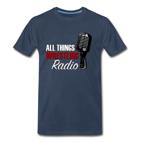 All Things Wrestling Radio T-Shirt - Men's Premium T-Shirt