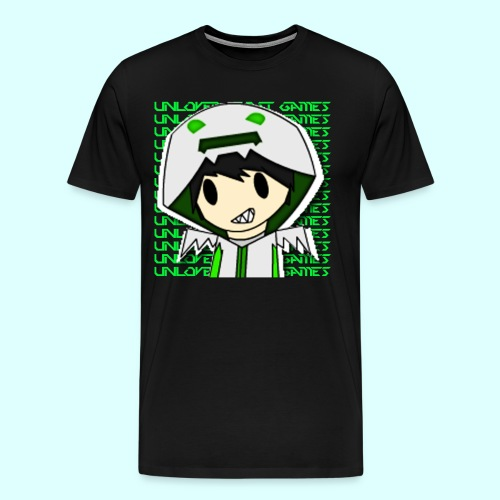 2D regular design - Men's Premium T-Shirt