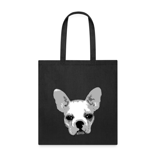 The Frenchie Face Bag - Tote Bag