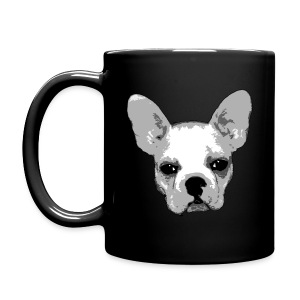 The Frenchie Bullie Coffee Cup - Full Color Mug
