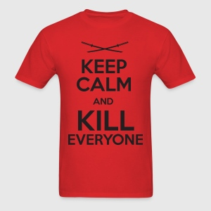 Keep Calm Deadpool T-Shirts - Men's T-Shirt