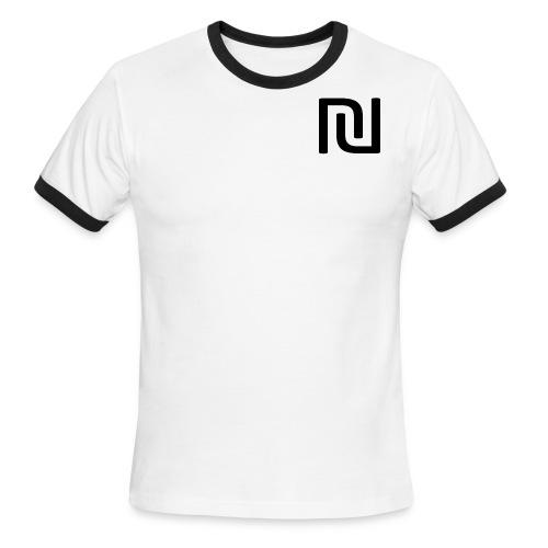 Wood On Wheels RInger T shirt - Men's Ringer T-Shirt