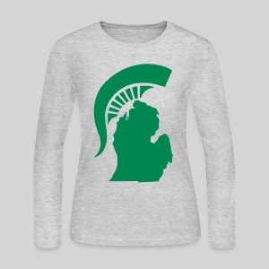 The State of Michigan - Women's Long Sleeve Jersey T-Shirt