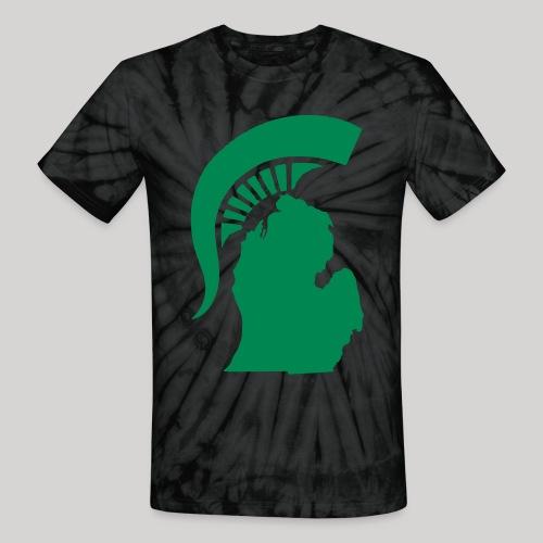 The State of Michigan - Unisex Tie Dye T-Shirt