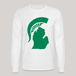 The State of Michigan - Men's Long Sleeve T-Shirt