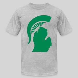The State of Michigan - Men's T-Shirt by American Apparel