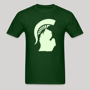The State of Michigan (Glow in the dark) - Men's T-Shirt