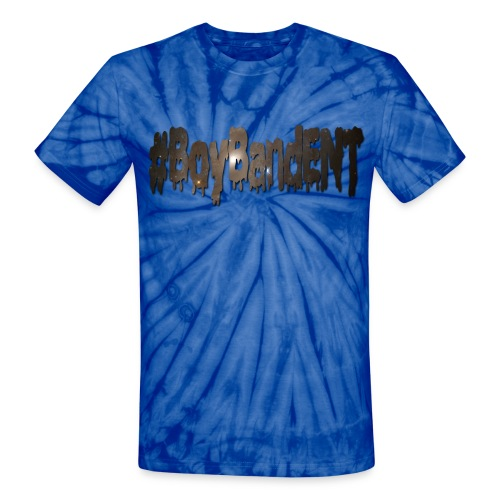 #BoyBandENT Unisex Tie Dye - Unisex Tie Dye T-Shirt