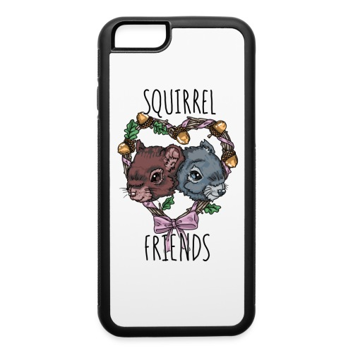 Squirrel Friends iPhone 6 Case - iPhone 6/6s Rubber Case