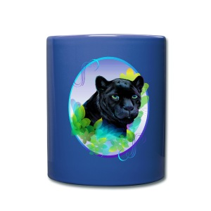 BLACK PANTHER and BLENDING JUNGLE - Full Color Mug