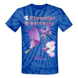 FIBROMYALGIA AWARENESS - Unisex Tie Dye T-Shirt