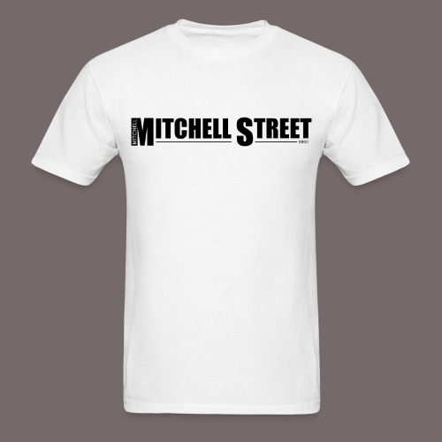 Mitchell Street - Men's White Tee - Men's T-Shirt