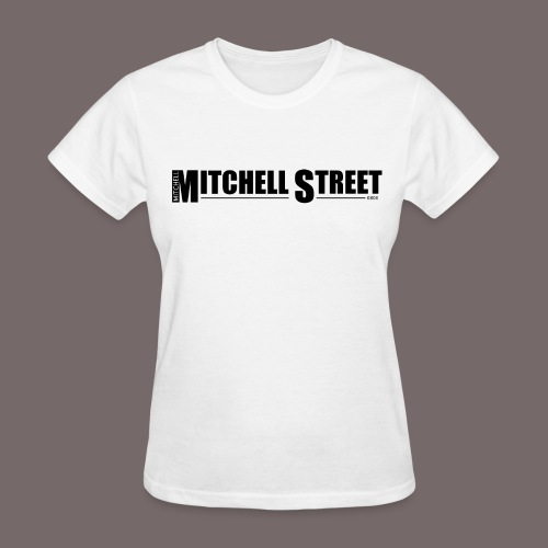 Mitchell Stree - Women's White Tee - Women's T-Shirt