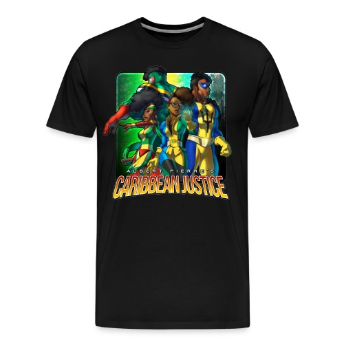 Caribbean Justice Legends (Special Edition) - Men's Premium T-Shirt
