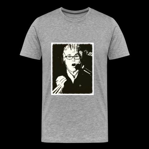 Mike in B&W Short Sleeve - Men's Premium T-Shirt