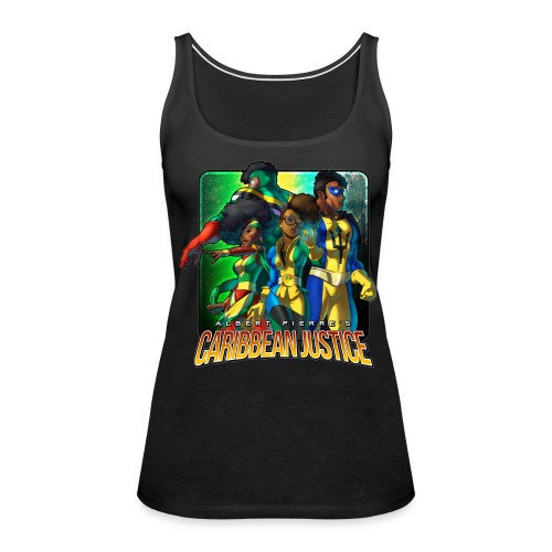 Caribbean Justice Legends (Special Edition) - Women's Premium Tank Top