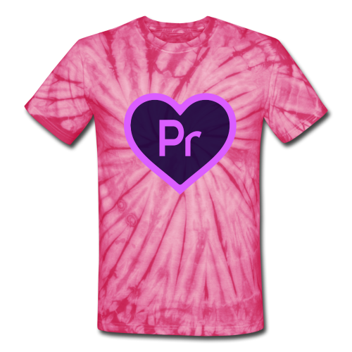 Premiere Love Tie-Dye - Unisex Tie Dye T-Shirt
