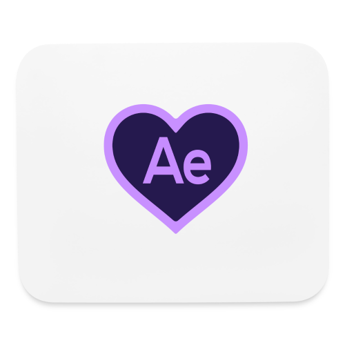 After Effects Love Track Pad - Mouse pad Horizontal