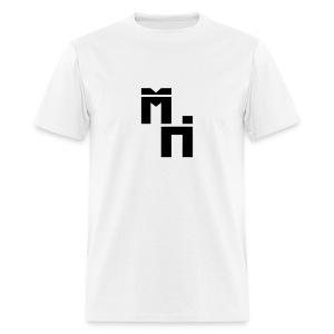 McHans Logo Black - Men's T-Shirt