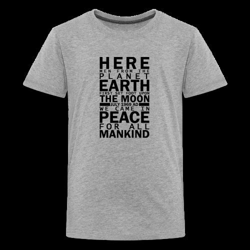 Apollo 11 Plaque KIDS - Kids' Premium T-Shirt